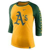 Women's Nike Oakland Athletics Triblend Tee
