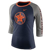 Women's Nike Houston Astros Triblend Tee