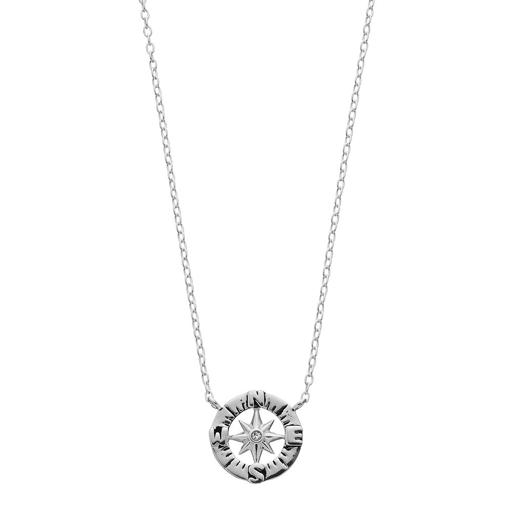 of be without d rosa products lost shop vila direction necklace life you i compass
