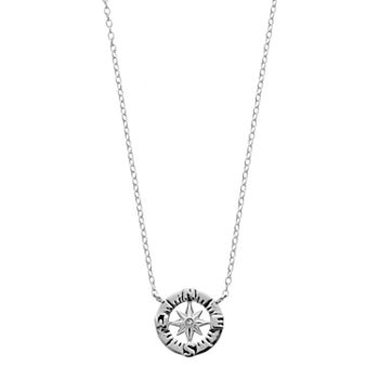 lifetwo interlocking op necklace love life two prd circle this wid product hei sterling tone jsp silver sharpen pendant