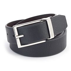 Men's Chaps Distressed Reversible Belt