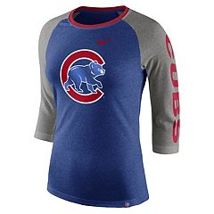 Women's Nike Chicago Cubs Triblend Tee