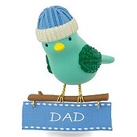 Winter Bird Dad 2017 Hallmark Keepsake Christmas Ornament