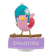 Winter Bird Daughter 2017 Hallmark Keepsake Christmas Ornament
