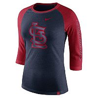 Women's Nike St. Louis Cardinals Triblend Tee