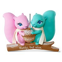 Nutty But Nice Sisters Squirrels 2017 Hallmark Keepsake Christmas Ornament