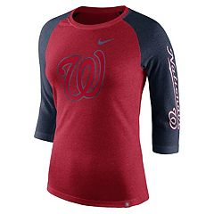 Women's Nike Washington Nationals Triblend Tee