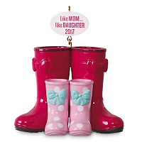 Winter Boots Like Mom, Like Daughter 2017 Hallmark Keepsake Christmas Ornament