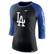 Women's Nike Los Angeles Dodgers Triblend Tee
