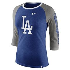 Women's Nike Los Angeles Dodgers Triblend Tee