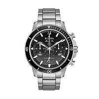Bulova Men's Marine Star Stainless Steel Chronograph Watch - 96B272