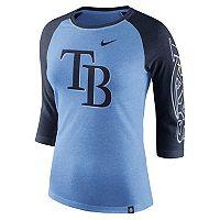 Women's Nike Tampa Bay Rays Triblend Tee