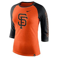 Women's Nike San Francisco Giants Triblend Tee