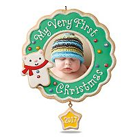 My Very First Christmas Picture Frame 2017 Hallmark Keepsake Christmas Ornament