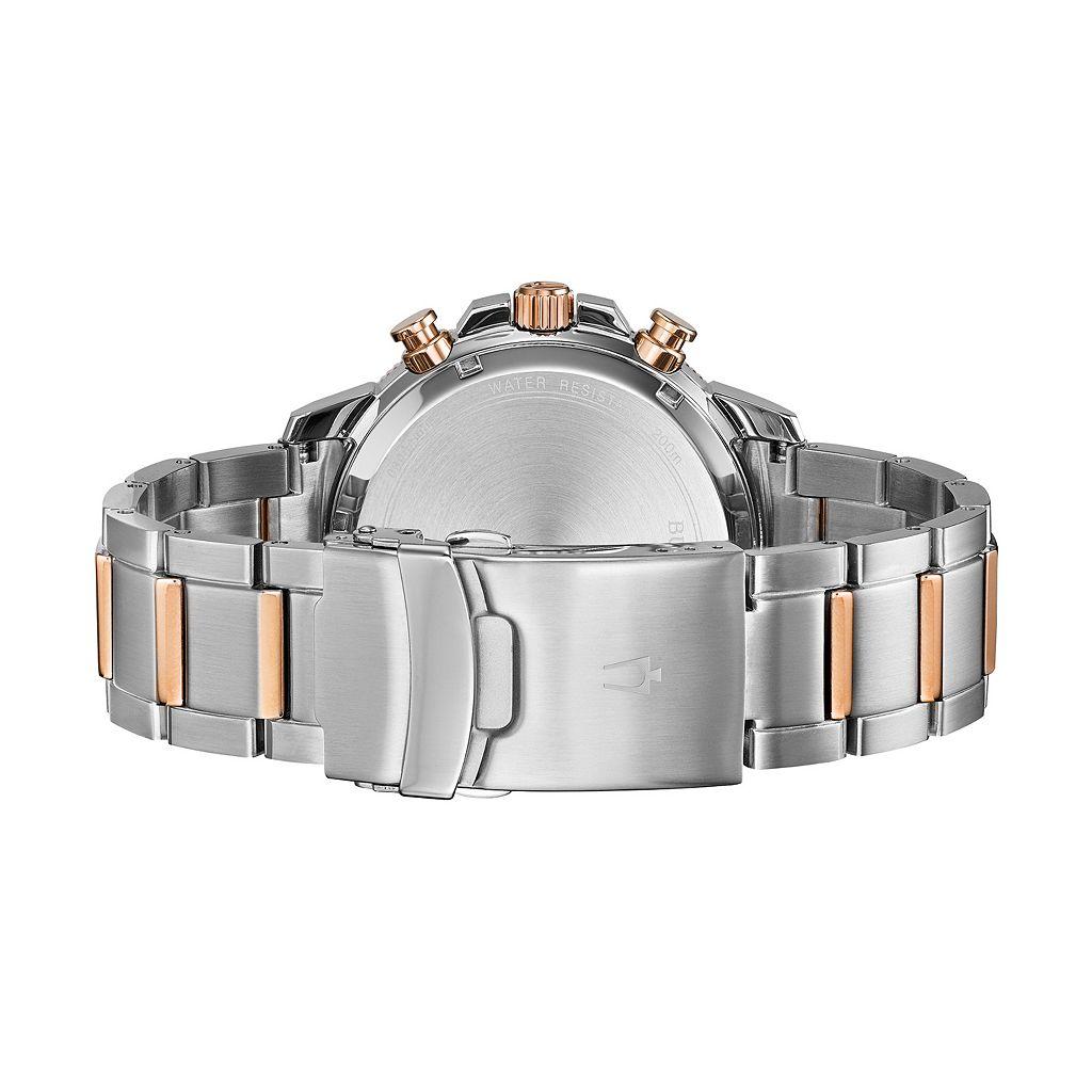 Bulova Men's Marine Star Two Tone Stainless Steel Chronograph Watch - 98B301
