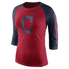 Women's Nike Cleveland Indians Triblend Tee