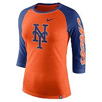 Women's Nike New York Mets Triblend Tee