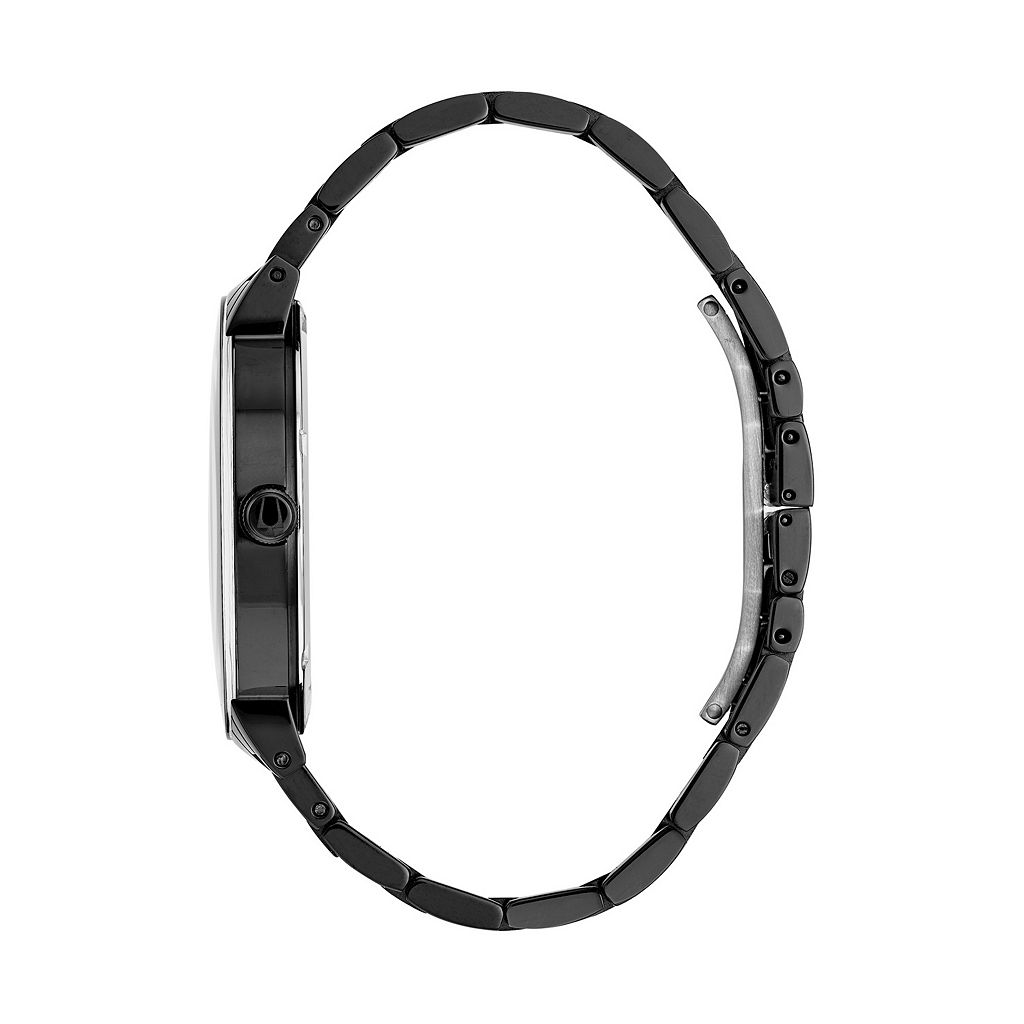 Bulova Men's Modern Diamond Black Ion-Plated Stainless Steel Watch - 98D144 - 98D144K