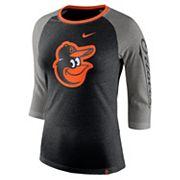 Women's Nike Baltimore Orioles Triblend Tee