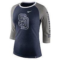 Women's Nike San Diego Padres Triblend Tee