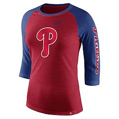 Women's Nike Philadelphia Phillies Triblend Tee