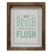 "Stratton Home Decor ""Brush"" Wall Decor"
