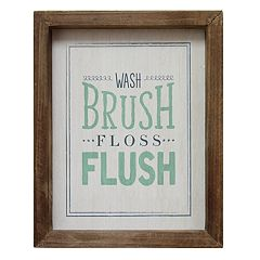 Stratton Home Decor 'Brush' Wall Decor