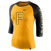 Women's Nike Pittsburgh Pirates Triblend Tee