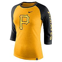 Women's Nike Pittsburgh Pirates Triblend Tee