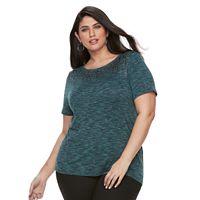 Plus Size Apt. 9® Sequin Top