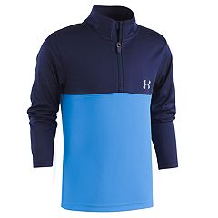 Boys 4-7 Under Armour 1/4-Zip Pullover Mock Neck Top