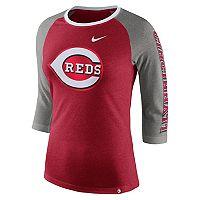 Women's Nike Cincinnati Reds Triblend Tee