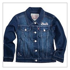 Girls 4-6x Levi's® Butterfly Trucker Jean Jacket
