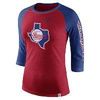Women's Nike Texas Rangers Triblend Tee