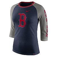 Women's Nike Boston Red Sox Triblend Tee