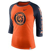 Women's Nike Detroit Tigers Triblend Tee