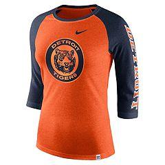 Women's Nike Detroit Tigers Triblend Tee
