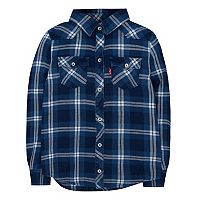 Girls 4-6x Levi's® Western Plaid Shirt