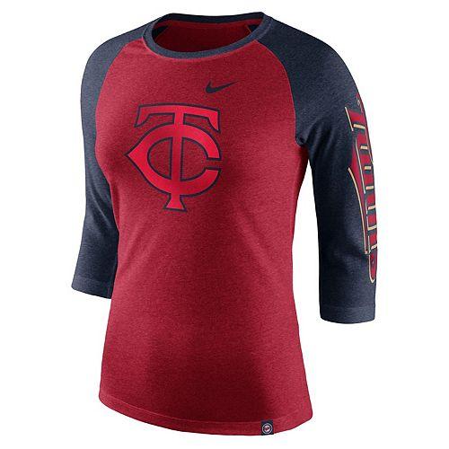 Women's Nike Minnesota Twins Triblend Tee