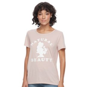 """Disney's Beauty and the Beast Juniors' Belle """"Natural Beauty"""" Graphic Tee"""