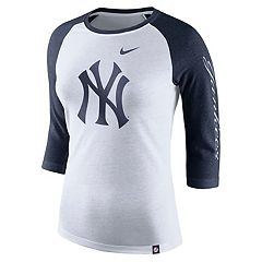Women's Nike New York Yankees Triblend Tee