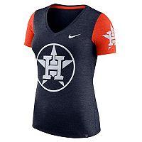 Women's Nike Houston Astros Dri-FIT Touch Tee
