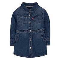 Girls 4-6x Levi's® Fit & Flare Denim Shirt Dress
