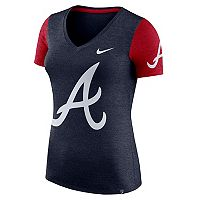 Women's Nike Atlanta Braves Dri-FIT Touch Tee