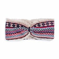 Women's MUK LUKS Zigzag Striped Headband