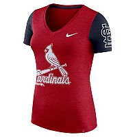 Women's Nike St. Louis Cardinals Dri-FIT Touch Tee