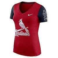 Women's Nike St. Louis Cardinals Dri-FIT Touch Tee