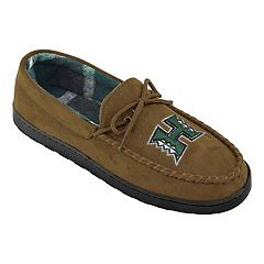 Men's Hawaii Warriors Microsuede Moccasins