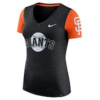 Women's Nike San Francisco Giants Dri-FIT Touch Tee