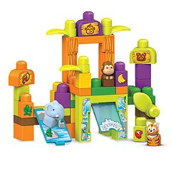 Mega Bloks Storytelling Safari Friends Zoo